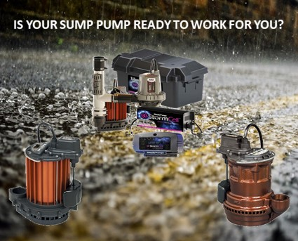 Is your sump pump ready to work for you?