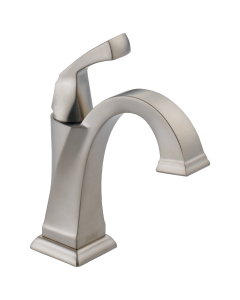 Delta - 551-SS-DST, Dryden: Single Handle Bathroom Faucet