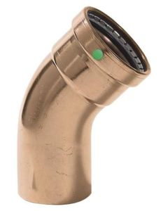 2-1/2'' ProPress x FPT XL Copper 45 Deg Street Elbow, Prt# 20668
