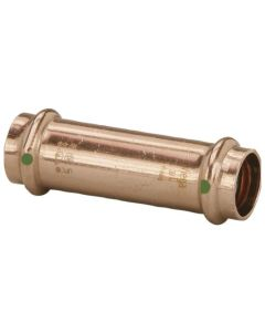 1/2'' ProPress Copper Extended Coupling No Stop, Prt# 79005