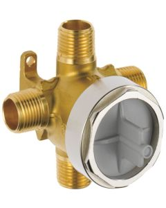 1/2'' 3-Port, 6-Function Diverter, Rough-In Tub and Shower Valve
