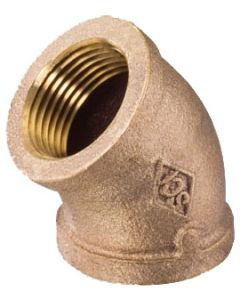 1/4'' x 1/4'', 45 Degree Elbow Fitting