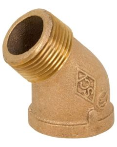 1/2'' x 1/2'', 45 Degree Street Elbow Fitting