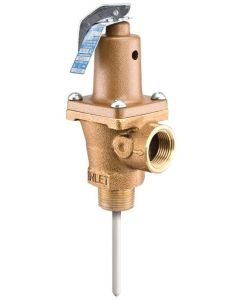 WATTS LF40XL - 1'' x 1'' Male Threaded x Female Threaded T and P Safety Relief Valve