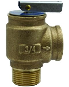 3/4'' MPT x FPT Boiler Safety Relief Valve