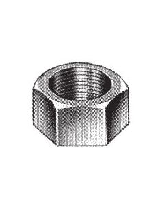 1/2'' Plated Hex Nut