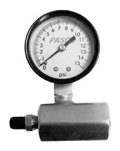 PASCO 1726-10G 2IN AIR TEST GAUGE