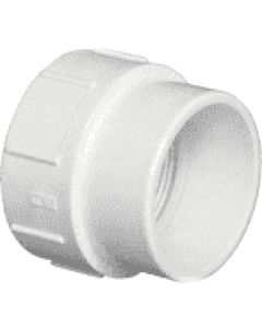 1-1/2'' PVC DWV Cleanout Adapter