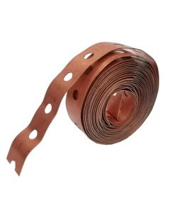 3/4'' x 10 ft. 24 Gauge Copper Iron Band