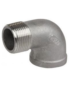 1'' SS Threaded 90 Degree Street Elbow