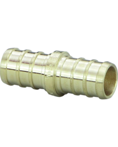 1/2'' Crimp Coupling Brass, Prt# 46434